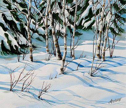 Cold Trees by Art Scholz