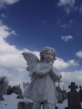 Cold Winters Day With An Angel By My Side by Jamie Mcatee