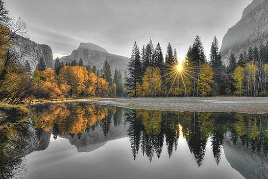 Cold Yosemite Reflections by Mark Whitt