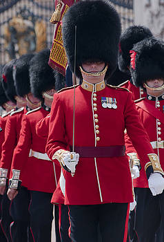 Coldstream guards by Andrew  Michael