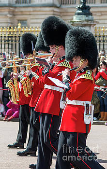 Coldstream guards band by Andrew Michael