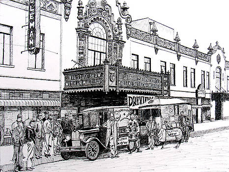 Coleman Theater, Miami, Oklahoma, 1931 by Ron Enderland