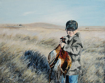 Cole's pheasant by Conny Riley