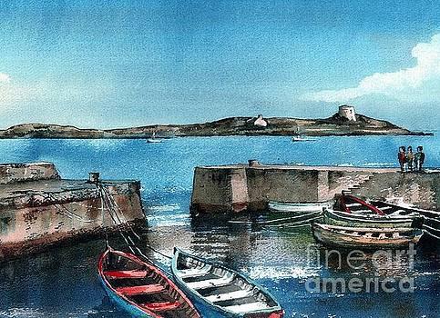 Val Byrne - Coliemore Harbour, Dalkey, Dublin