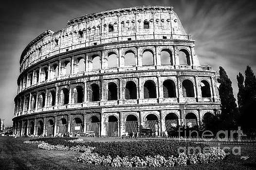 Coliseum Rome by Stefano Senise