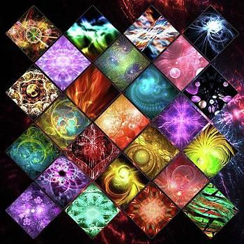 Collage 003 #digitalart #fractals by Michal Dunaj