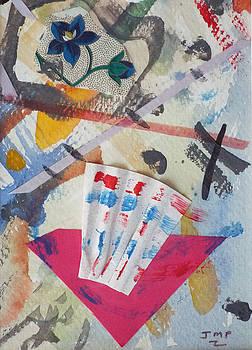 Joan's Collage 15 by Joan Pennison