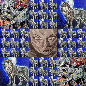 Collage 18 by Mark Bradley