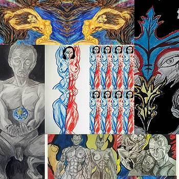 Collage 22 by Mark Bradley