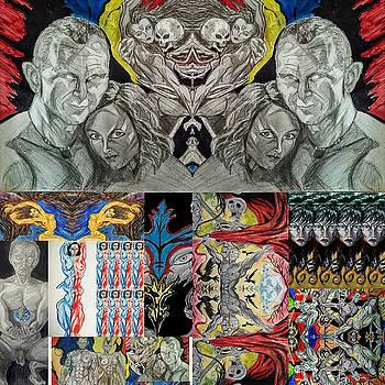 Collage 24 by Mark Bradley