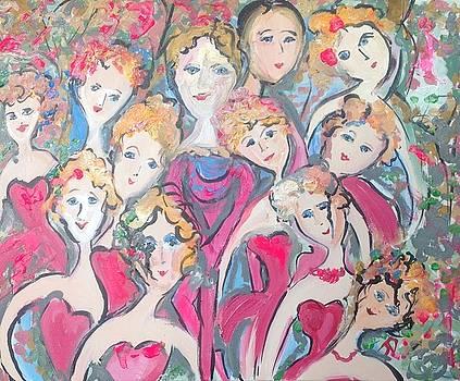 Collage dance  by Judith Desrosiers