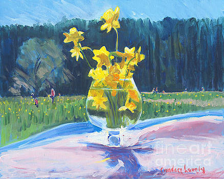 Candace Lovely - Collecting Daffodils