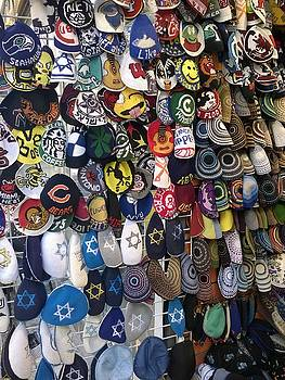 Collection of Kippot by Eliyahu Shear