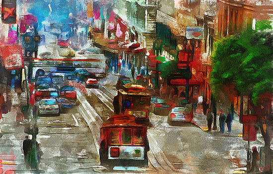 Collection of San Francisco -2 by Sergey Lukashin