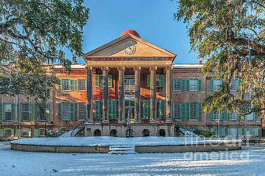 Dale Powell - College of Charleston Covered in Snow