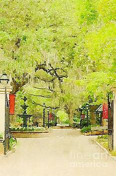 Dale Powell - College of Charleston Watercolor
