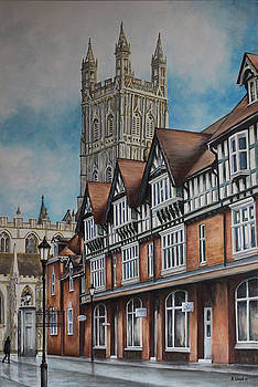 College Street Gloucester by Andy Lloyd