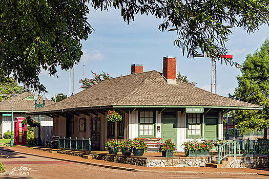 Collierville Train Station by Jeffrey Stone