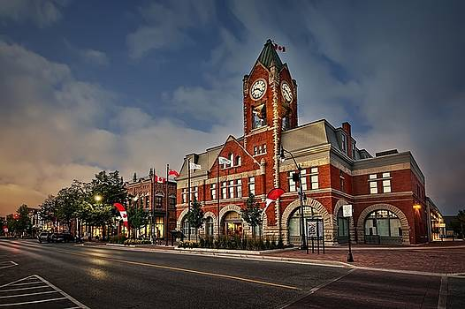 Collingwood Townhall by Jeff S PhotoArt