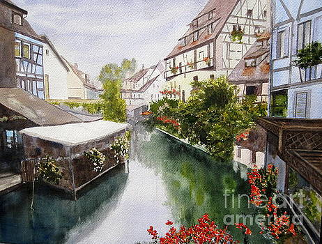 Colmar Canal by Shirley Braithwaite Hunt