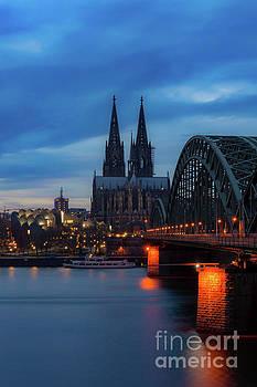 Cologne Cathedral at Dusk, Germany by Sinisa CIGLENECKI