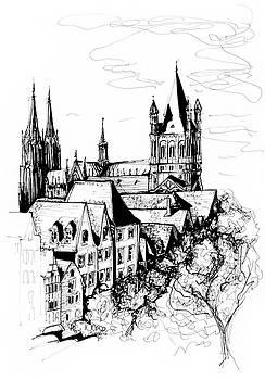 Cologne by Katerina Kopaeva