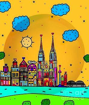 Cologne Popart by Nico Bielow by Nico Bielow