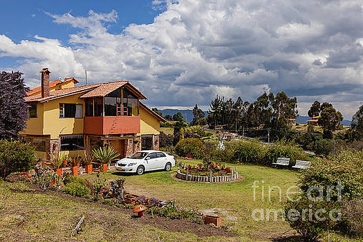 Colombia - Farm-house in Picturesque Subachoque on the Andes Mou by Devasahayam Chandra Dhas