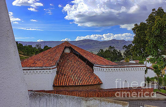 Colombia - Typical Guatavita Architecture in Andes Town by Devasahayam Chandra Dhas