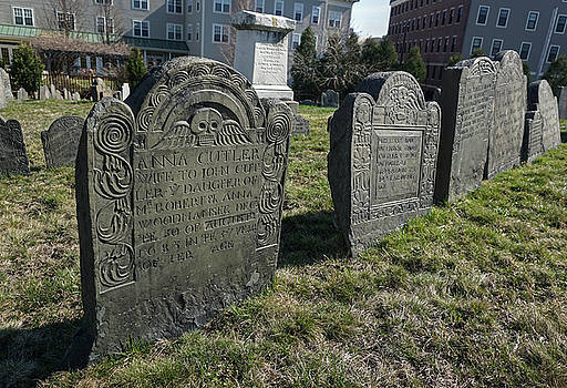 Colonial Graves at Phipps Street by Wayne Marshall Chase
