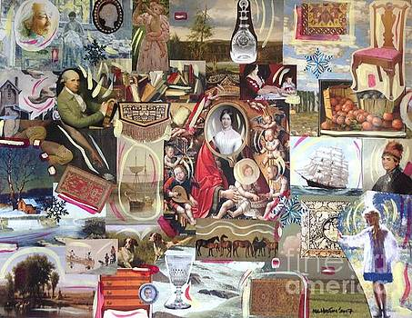 Colonial Heritage - Panel 2 by Margaret Lindsay Holton