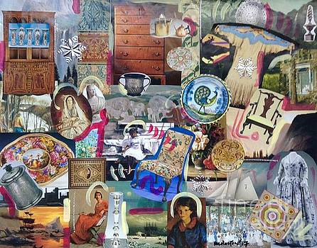 Colonial Heritage - Panel 4 by Margaret Lindsay Holton