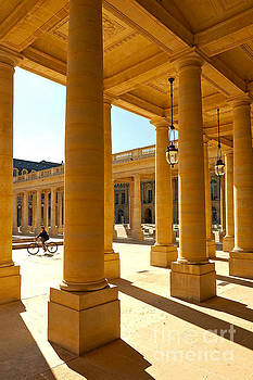 Colonnades at the Palais Royal by Alex Cassels