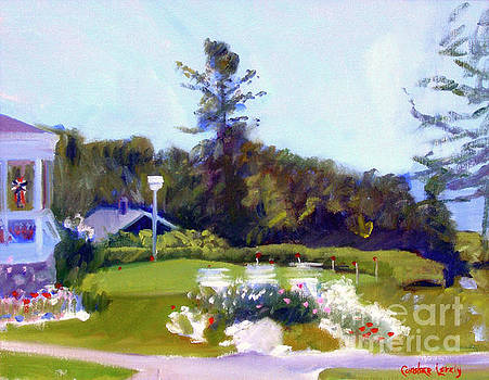 Colony Putting Green by Candace Lovely