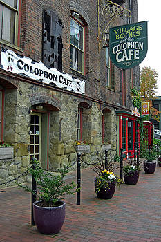 Colophon Cafe by Matthew Adair