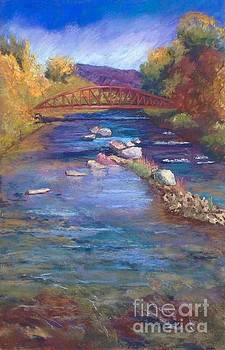Color 0f Water 18x12 by Rosemary Juskevich