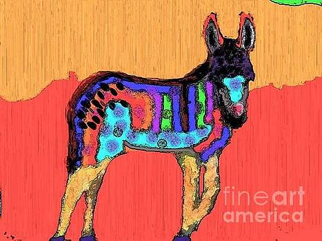Color block Burro by Amber Stubbs