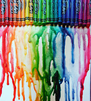 Color Crayons by Hugh Peralta