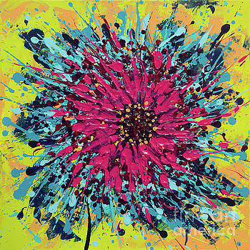 Color explosion by Alexandra Kiczuk
