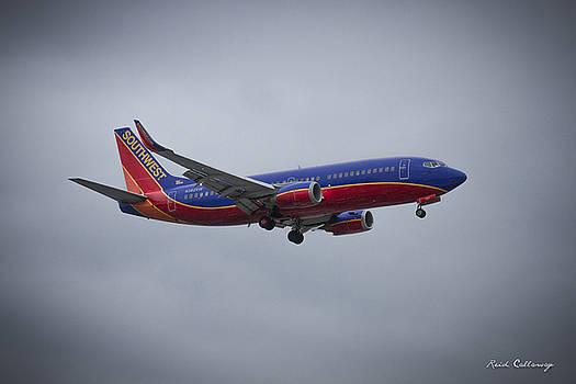 Reid Callaway - Color Me Beautiful Southwest Airlines N382SW Boeing 737 Airliner Art