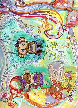Color Monkeys by Shelby Davis
