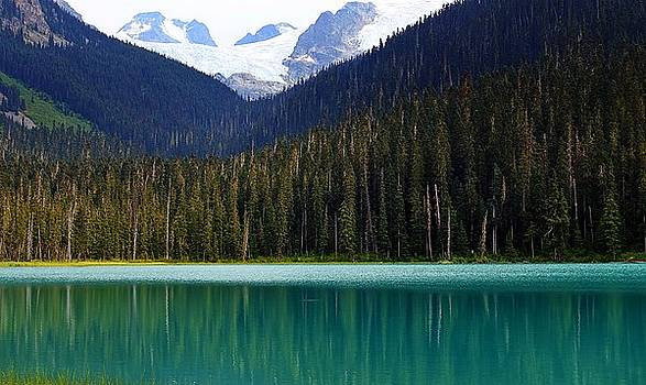 Lower Joffre Lake by Heather Vopni