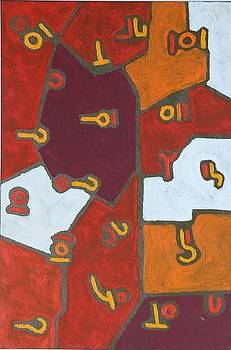 Color order No . 39 oil on canvas 2010 24 x 36 by Radoslaw Zipper