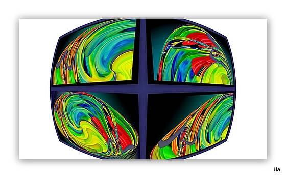 Color Rhombus by Halina Nechyporuk