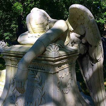 Color Version Of The Weeping Angel, I by Kerri Ann Crau