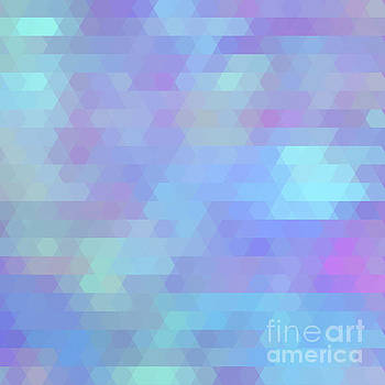 Tina Lavoie - Color Vibe abstract geometric art