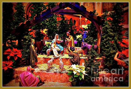 Frank J Casella - Color Vibe Nativity - Border