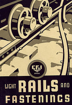 Colorado Fuel and Iron Nail Catalog Cover by Colorado Fuel and Iron Photo Department