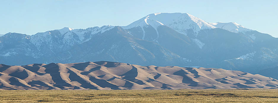 Colorado Great Sand Dunes Panorama Pt 2 by James BO Insogna