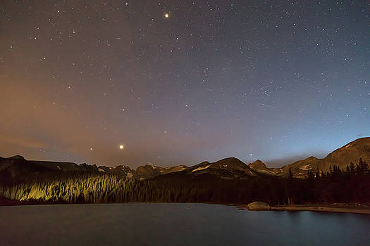 Colorado Indian Peaks Stellar Night by James BO Insogna
